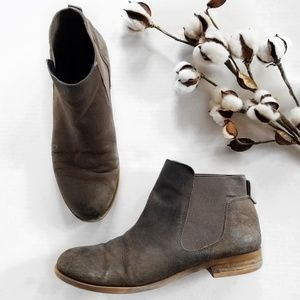 Franco Sarto Kabrina Distressed Ankle Booties 8.5